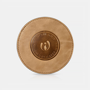 Genuine Leather Cup Coaster
