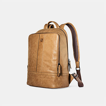 Shenzhou Real Leather Backpack