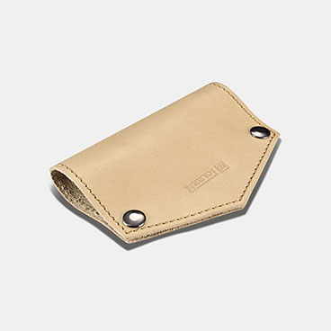 Vegetable Tanned Leather Key Pocket