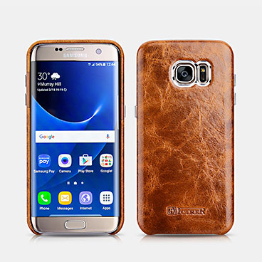 Oil Wax Back Cover Series For SAMSUNG Galaxy S7 edge