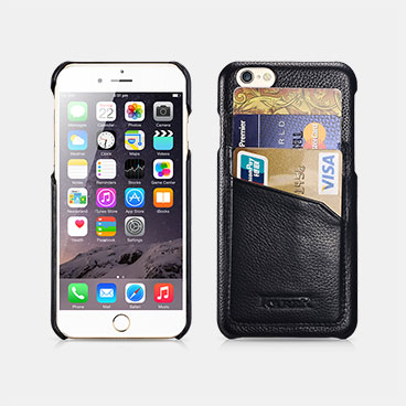Litchi Pattern Card-slot Back Cover Series For iPhone 6/6S
