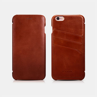 Curved Edge Vintage Card Slot Series For iPhone 6/6S