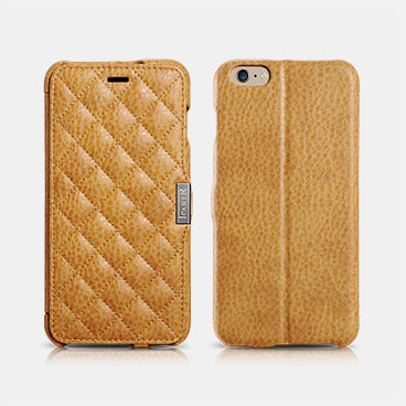 Microfiber Check Series (Side-open) For iPhone 6 Plus/6S Plus