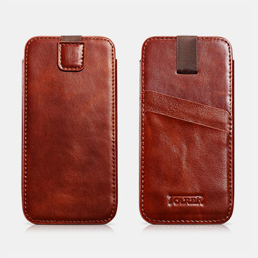 Vintage Straight Leather Case For iPhone 6 Plus/6S Plus