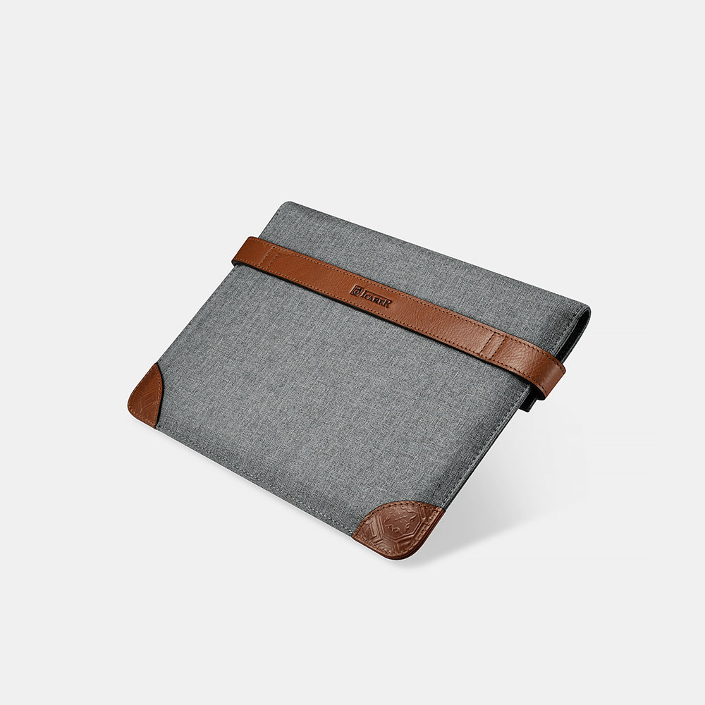 Fabric Tablet Sleeve with Two Buttons(Size: iPad Pro 9.7 inch)