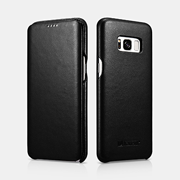 SAMSUNG Galaxy S8 Plus Real Leather Folio Case