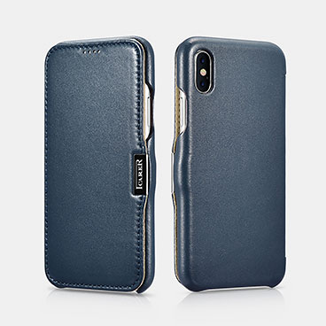 iPhone X Luxury Series Side-open(Metal clip in the front)