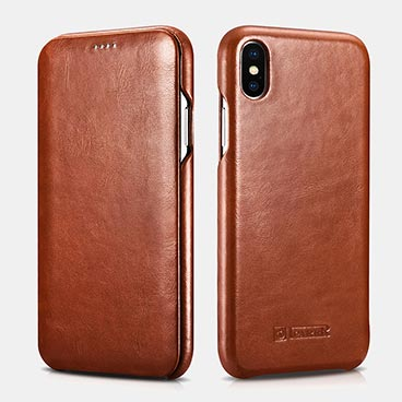 iPhone XS Max Curved Edge Vintage Folio Case(6.5 inch)Wholesale Custom Phone Cases
