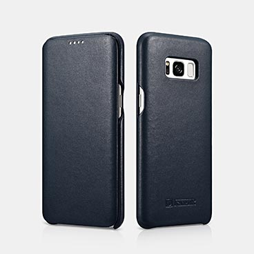 SAMSUNG Galaxy S8 Real Leather Folio Case