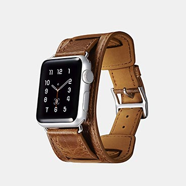 Wholesale Classic Genuine Leather Quadri-Watchband Series For Apple Watch