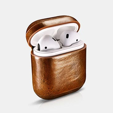 Airpods Oil Wax Leather Protective Case Cover