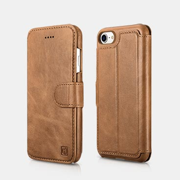 iPhone 8 Detachable 2 in 1 Mobile Phone Cover Wallet Flip Case with Magnetic Snap