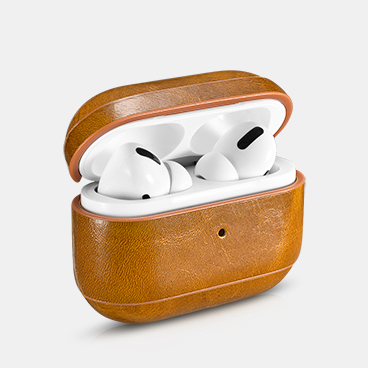 Airpods Pro  Oil Wax Leather Protective Case