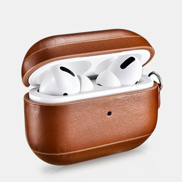 AirPods Pro Vintage Leather Protective Case(with Wrist Strap Lanyard)