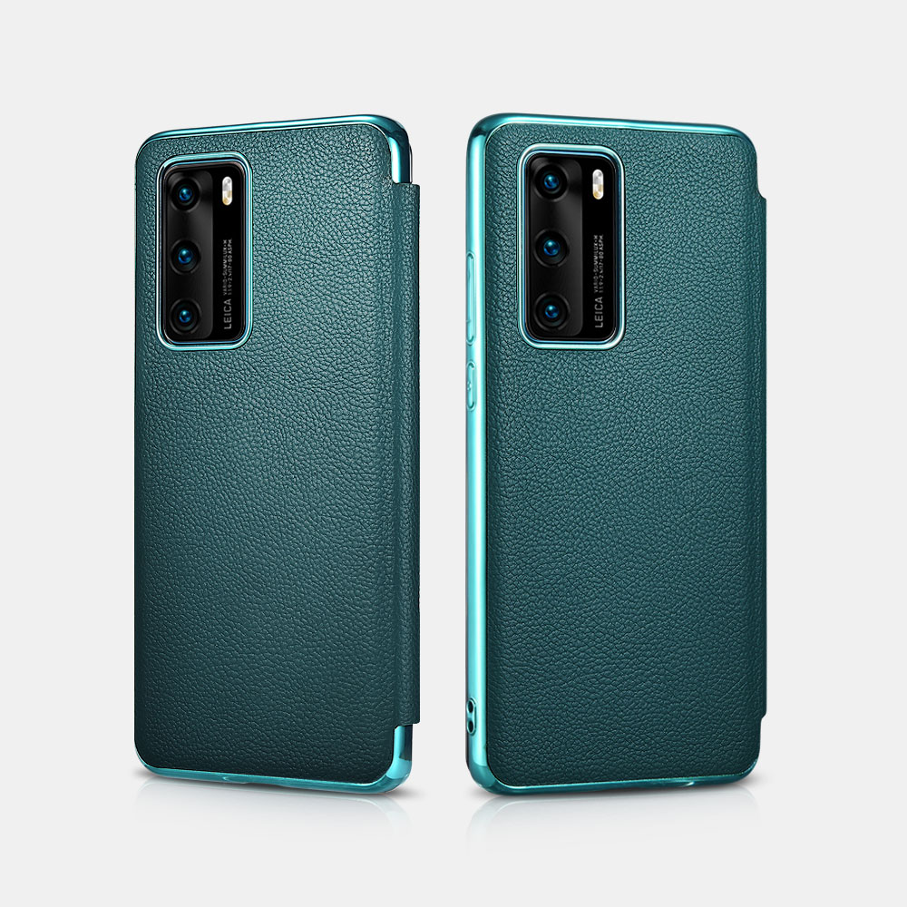 HUAWEI P40 Grained Leather Flap