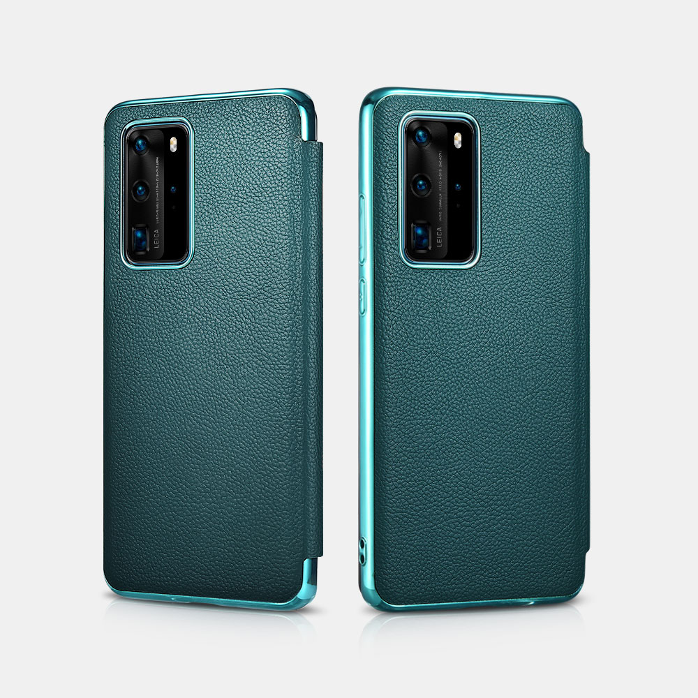 HUAWEI P40 Pro Grained Leather Flap