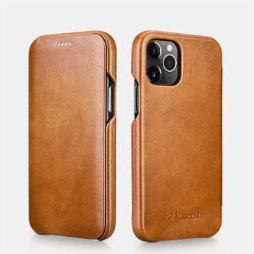 iPhone 12 Pro Curved Edge Vintage Folio Case