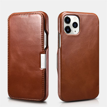 Vintage Leather Magnetic Style Folio Case for iPhone 12 Pro/12 Max
