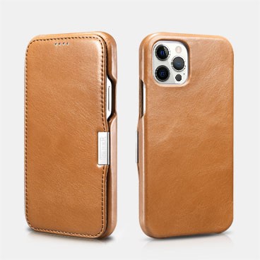 Vintage Leather Magnetic Style Folio Case for iPhone 12/12 Pro